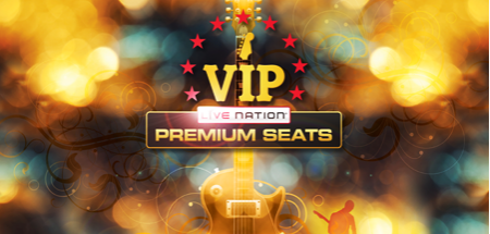 Live Nation VIP - Design by Landon Elmore Design & Marketing